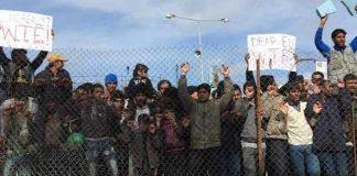 μεταναστες Μόρια