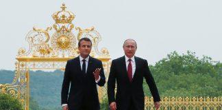 Χαμός με τον Μακρόν! Η επίθεση στα ρώσικα ΜΜΕ με τον Πούτιν... στο πλάι του!