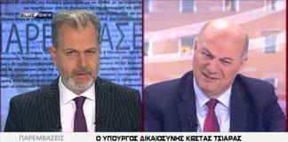 Παπαδόπουλος,Τσιάρας